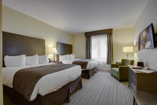 Stateside Hotel Room  Queen Beds