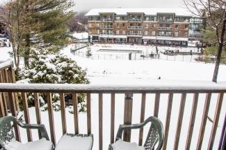 Slopeside Condo 702 Deck