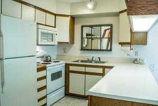 Slopeside Condo 1002 Kitchen