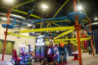 Clips Reels Ropes Course Arcade
