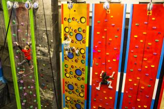 Clips Reels Climbing Wall