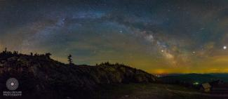 Admiring the Milky Way with photographer Brian Drourr