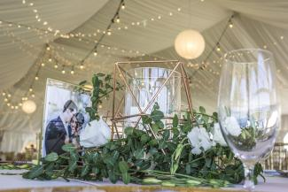 Clubhouse Tent Decor