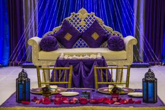 Bride and Groom Seats