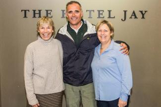 Jay Peak donated $4,000 from its 2nd Annual Schlamm Jam Fundraiser to the Jay & Montgomery Rec. Centers