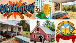 Oktoberfest at The Belfry restaurant starts tomorrow and continues on Saturday.